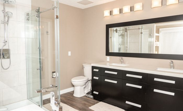 Luxurious Bathroom Renovations In Calgary Solid Solutions Renovations